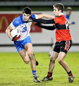 Shane Aherne produced another big shift in midfield for Waterford, and chipped in with four points.