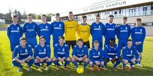 WIT who defeated CIT (2-1) in their Premier Division College University soccer League match played in Carriganore