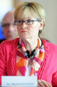 European Parliament Vice President and Midlands/North-West MEP Mairead McGuinness.