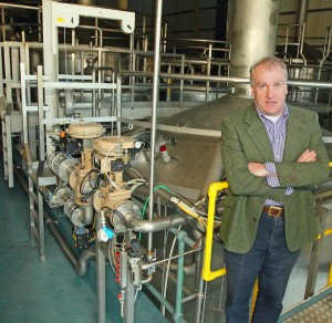 Waterford Distillery proprietor Mark Reynier is thrilled with the progress made a year after acquiring the Guinness Brewery on Grattan Quay.