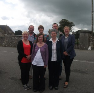 Copper Coast Geopark Staff and Volunteers at Kill Village