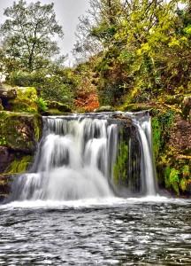 The idyllic Poulanassy Waterfall, just outside Mullinavat.
