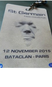 Twenty-fours earlier: the pass issued to a Waterford group at the Bataclan concert hall, where terrorists shot dead 89 concert goers the following night. Inset: Aodhgan Hendry.