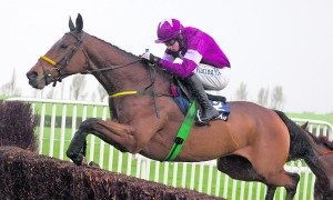 Road To Riches and Bryan Cooper on their way to winning the Clonmel Oil Chase  at Clonmel last Thursday
