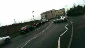 The parking situation at Ardscoil na Mara, highlighted by TD John Deasy, was discussed in City Hall.
