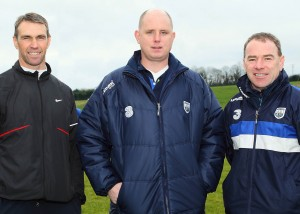 Deise football manager Tom McGlinchey with fellow selectors Ger Power and Tony Corcoran.