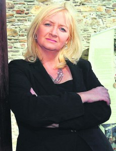 Cllr Mary Roche, who has called for urgent upgrading of both the N24 and N25.