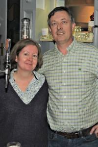 Restaurant leaseholders David Deegan and Jacqui Corcoran.