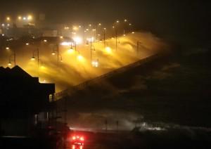 Waves crash into Tramore's Promenade during Storm Frank. | Photo: Noel Browne