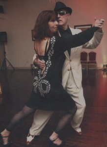 Jim and Clary performing the tango.