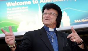 Father Michael enjoying his holiday in Vegas.