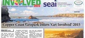 The Munster Express reported on developments in the Copper Coast Geopark as part of 'Get Involved' 2015.