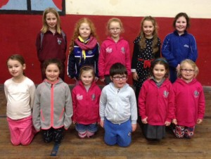 Pictured are the Junior Musical Society members who will be performing on Saturday night's run of 'Hansel and Gretel' at the Premier Hall.