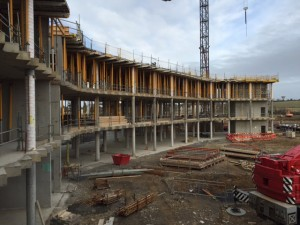 A recent photo of the West Pharma construction site.