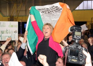 Mary Butler's poll-topping win was, by any measure, a spectacular success for Fianna Fáil.    Photo: Noel Browne