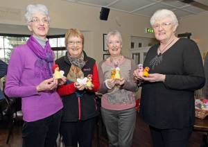 """Pictured at Beckett's on the Dunmore Road were the founder members of the group """"Headgear For Hospice"""" who so far have raised a total of €51,000.00 for this great cause. Included are Lily Moody, Anne Nolan, Mary Dunphy and Nellie Moore."""