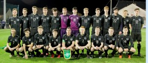 The Republic of Ireland U18 squad that took on Wales in graun