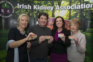 Pictured at the launch of Organ Donor Awareness Week 2016 are Regina Reynolds (National Organ Donor Co-ordinator), Ray Halligan (Waterford IKA branch), Vivienne Traynor (Organ Donor Awareness Week patron), and Vera Frisby (Waterford IKA branch). Photo: Conor McCabe Photography.