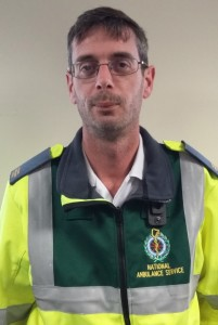 Frustrated: paramedic and Unite shop steward Keith Bradfield.