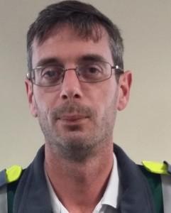 Waterford paramedic and Unite shop steward Keith Bradfield.