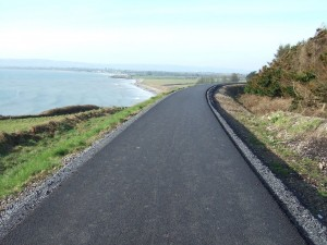 A stretch of the stunning Waterford Greenway near Clonea Strand.
