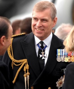 Britain's Prince Andrew who was the subject of an infamous Munster Express April Fool hoax in 1982.