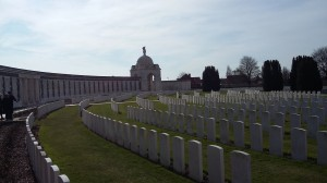 Tyne Cot Commonwealth War Graves Cemetery.