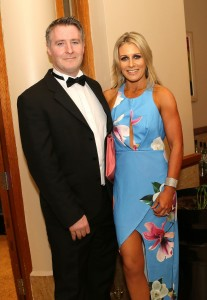 Fergal and Michelle Freyne pictured at the Tower Hotel on Saturday last.
