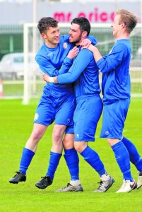 Darren Murphy celebrated the opener against UCD