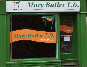 Mary Butler's shop opened Monday 4th