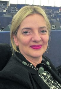 MEP Liadh Ní Rada: a consistent supporter of greater activity in Dunmore Harbour at European level