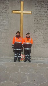 Siobhan and Nicky pictured at Arbour Hill, Dublin.