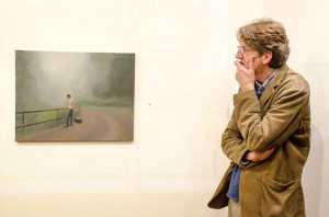 Imagine's Ollie Breslin pictured at the RHA Exhibition opening on Thursday last.