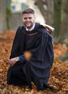 City & County Mayor Adam Wyse, who recently graduated from WIT with a Bachelor of Business (Hons). His Fianna Fáil colleague Eamon Quinlan, along with many others, including WIT President Willie Donnelly, has called for additional capital investment for the Institute. | Photo: Patrick Browne