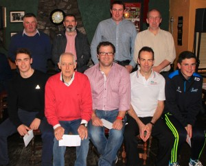 League Division 1 finalists with sponsor Paul Kenny