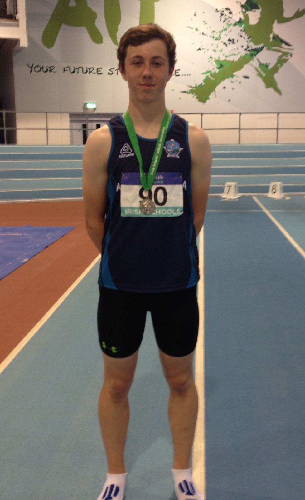 Ard Scoil na Mara student Shane Monagle enjoyed an excellent 2016 and secured a place on the Irish schools team when he won the silver medal at the national schools combined events finals in Athlone last weekend