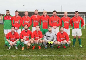 The Bolton team defeated by Ballinroad in the Munster Junior Cup
