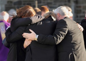 The family of the late Billy McCarthy, united in their grief