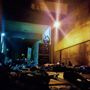 The Big Deise Sleep Out for Focus Ireland on Friday last was a night well spent.
