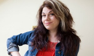 Columnist and 'bit of a hippy' Caitlin Moran.