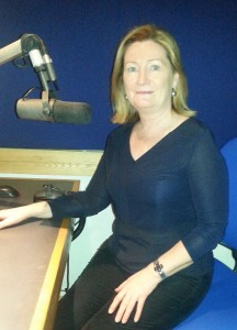 Clodagh Walsh: Back in her native Waterford but still ruling the RTE airwaves and TV screens.