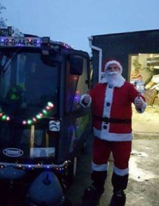 Tramore's Santa Sweeper - as once he looked.
