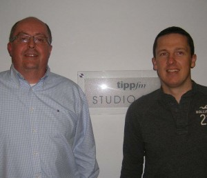 Muiris pictured with Tipperary football legend and WIT Alumnus Declan Browne.