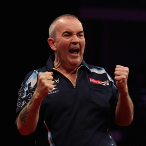 Phil 'The Power' Taylor, one of Muiris's favourite interviewees.