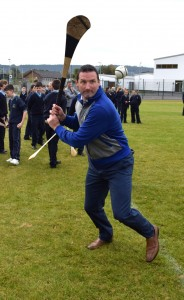 Comeragh College has already attracted some high-profile visitors, including legendary Tipperary All-Ireland winner and Poc Fada champion Brendan Cummins.