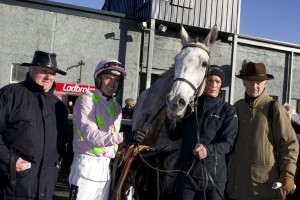Champagne Fever with Ruby Walsh aboard after they won the listed 2m 6f chase at Thurles Photo: Patrick Mc Cann