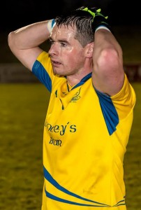 The despondent body language of Nire skipper Shane Walsh says it all at full-time