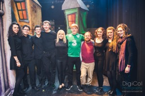 Waterford Pantomime Society's hard-working back stage team at last year's show