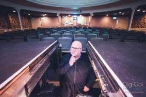 Musical director Wayne Brown