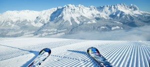 Skiing in St Johann offers spectacular views and great entertainment.